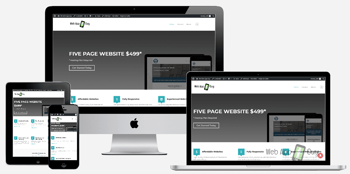 Responsive website for your business